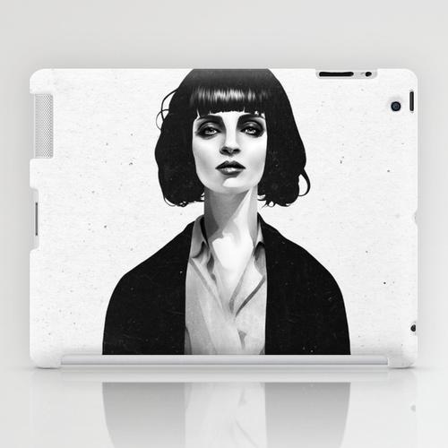 iPad ソサエティ6 iPadcase アイパッドケース Mrs Mia Wallace