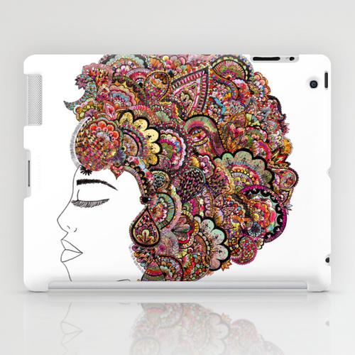 iPad sosiety6 ソサエティ6 iPadcase アイパッドケース her hair - les fleur edition
