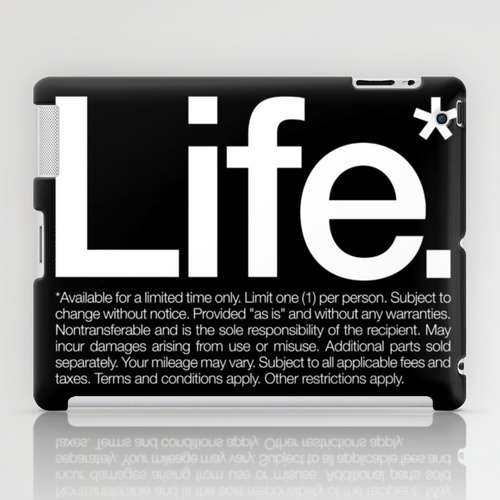 iPad sosiety6 ソサエティ6 iPadcase アイパッドケース Life.* Available for a limited time only.