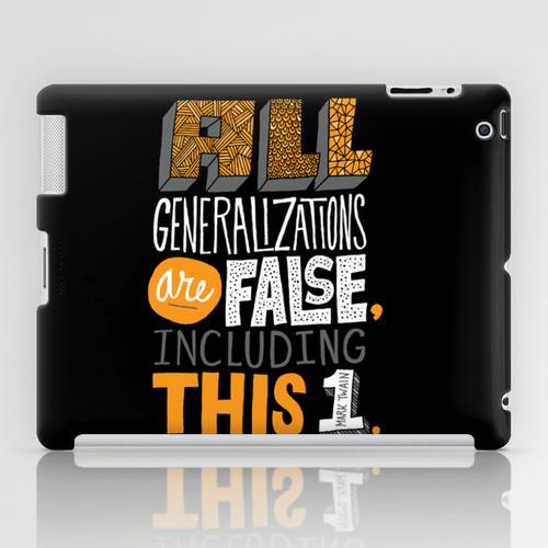 iPad sosiety6 ソサエティ6 iPadcase アイパッドケース All Generalizations