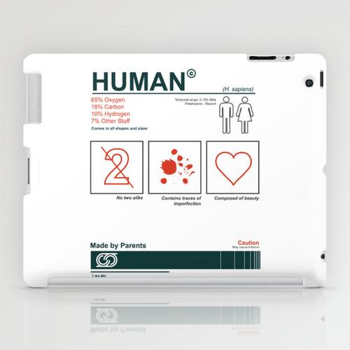 iPad sosiety6 ソサエティ6 iPadcase アイパッドケース100 percent human