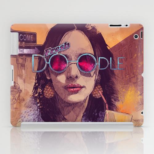iPad sosiety6 ソサエティ6 iPadcase アイパッドケース Welcome to the Fresh Doodle