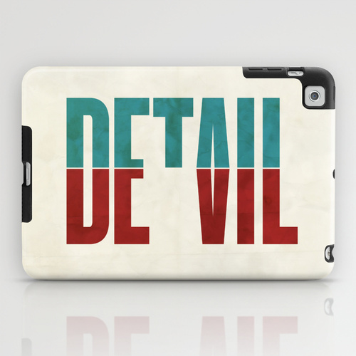 iPad mini sosiety6 ソサエティ6 iPadcase mini アイパッドミニケース Devil in the detail.