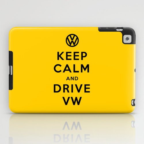 iPad mini sosiety6 ソサエティ6 iPadcase mini アイパッドミニケース Keep Calm and Drive Volkswagen (Keep Calm and Carry On) 2nd Version