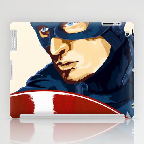 iPad ソサエティ6 iPadcase アイパッドケース Captain America by Fidgt