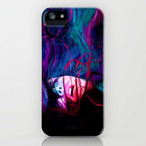 iPhone 5 ソサエティー6 iPhone5ケース/DROWN