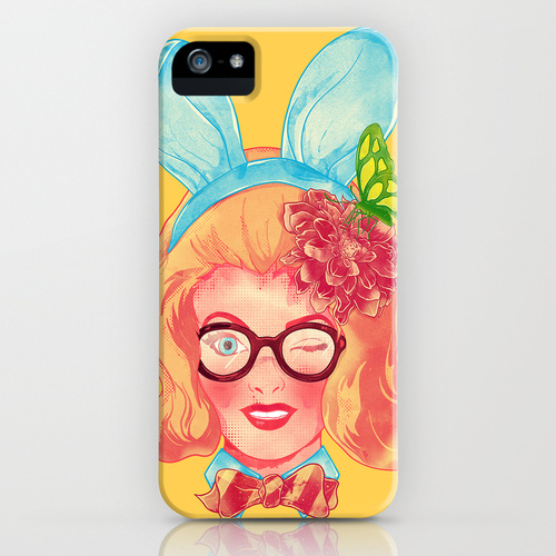 iPhone 5 sosiety6 ソサエティー6 iPhone5ケース/Lapin Belle