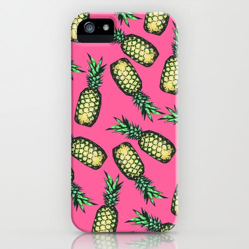iPhone 5 sosiety6 ソサエティー6 iPhone5ケース/Pineapple Pattern