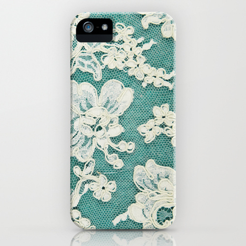 iPhone 5 sosiety6 ソサエティー6 iPhone5ケース/white lace - photo of vintage white lace