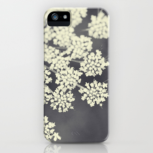 iPhone 5 sosiety6 ソサエティー6 iPhone5ケース/Black and White Queen Annes Lace