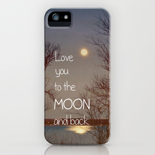 iPhone 5 sosiety6 ソサエティー6 iPhone5ケース/To the Moon and Back