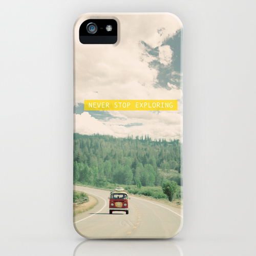 iPhone 5 sosiety6 ソサエティー6 iPhone5ケース/NEVER STOP EXPLORING