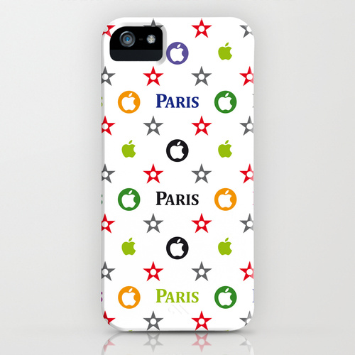 iPhone 5 sosiety6 ソサエティー6 iPhe5ケース/Louis Vuitton Paris style skin