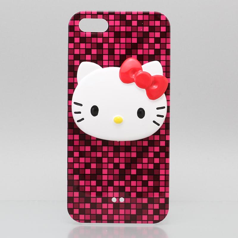 iPhone 5 iPhone5 ケース アイフォン5専用ハードケースカバー マゼンダ /ハローキティアイパーツiParts