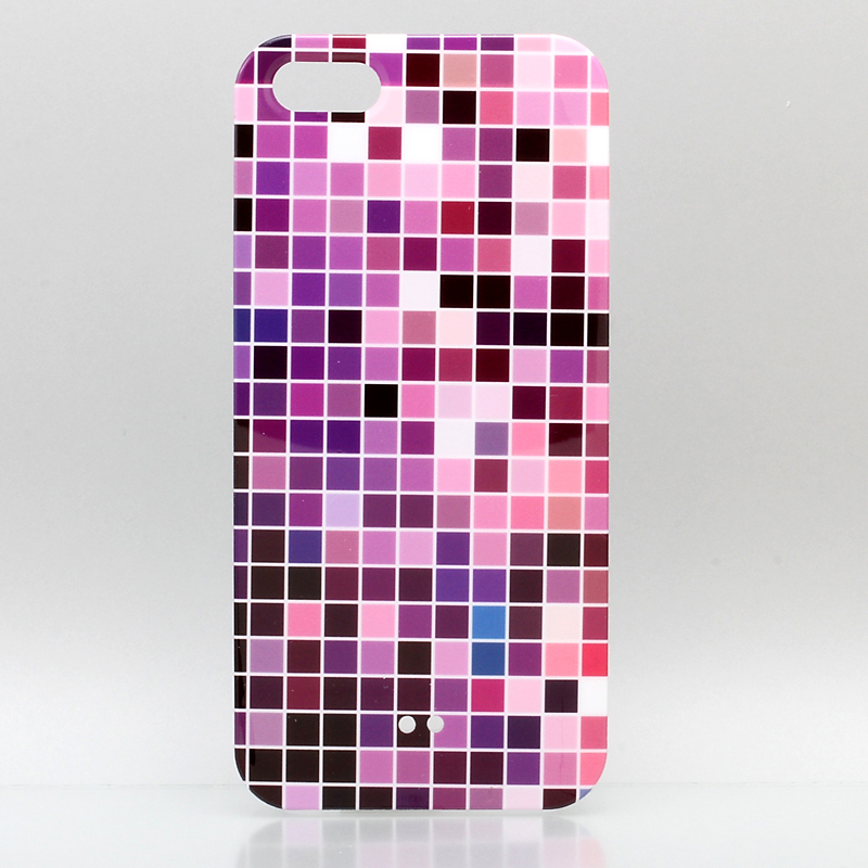 iPhone 5 ThreeBeans iPhone5 ケース アイフォン5専用ハードケースカバー パープルグラデーション