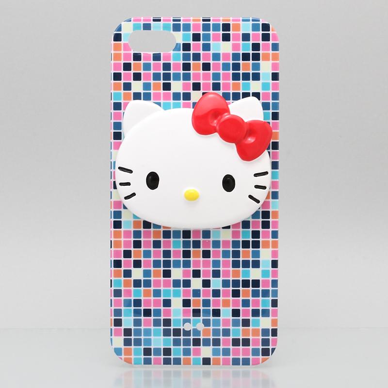 iPhone 5 iPhone5 ケース アイフォン5専用ハードケースカバー ブルー /ハローキティアイパーツiParts