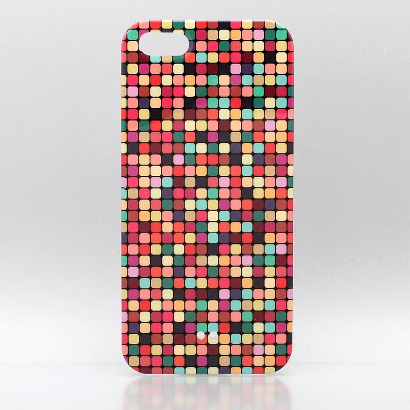 iPhone 5 TreeBeans iPhone5 ケース アイフォン5専用ハードケースカバー  レインボーストライプ