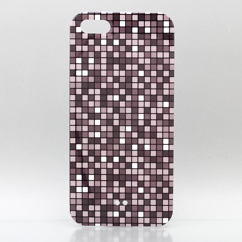 iPhone 5 TreeBeans iPhone5 ケース アイフォン5専用ハードケースカバー  グレーBR