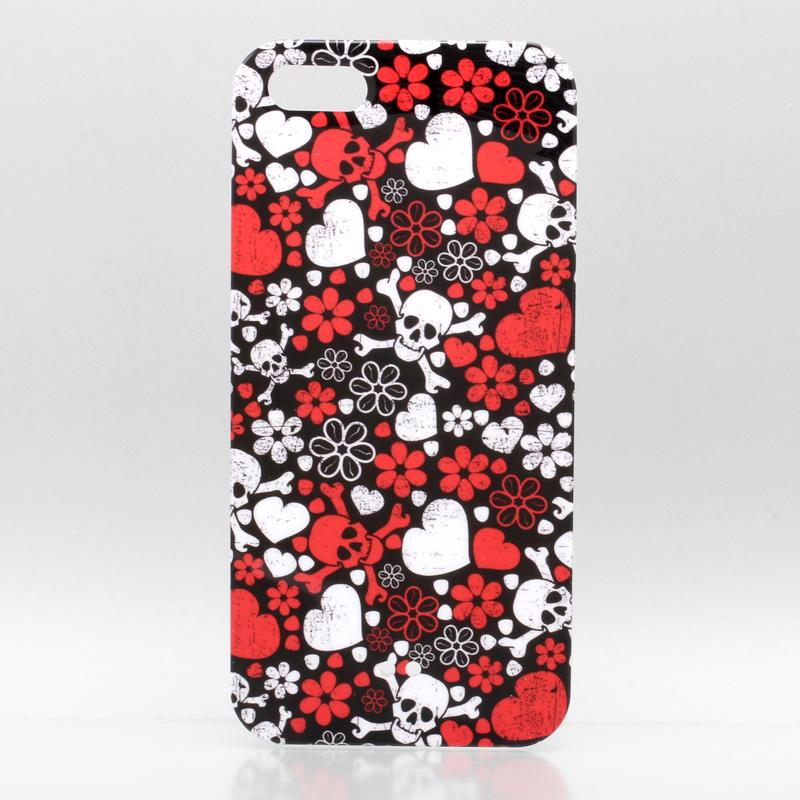 iPhone 5 TreeBeans iPhone5 ケース アイフォン5専用ハードケースカバー  ハートスカル