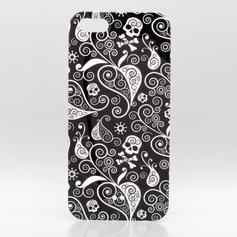 iPhone 5 TreeBeans iPhone5 ケース アイフォン5専用ハードケースカバー  スカルパイン