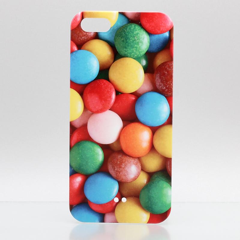 iPhone 5 ThreeBeans iPhone5 ケース アイフォン5専用ハードケースカバー  マーブルチョコ