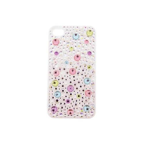 iPhone 4/4S iDress™  ジュエリーケース iPhone4S/4対応 ホワイトドット