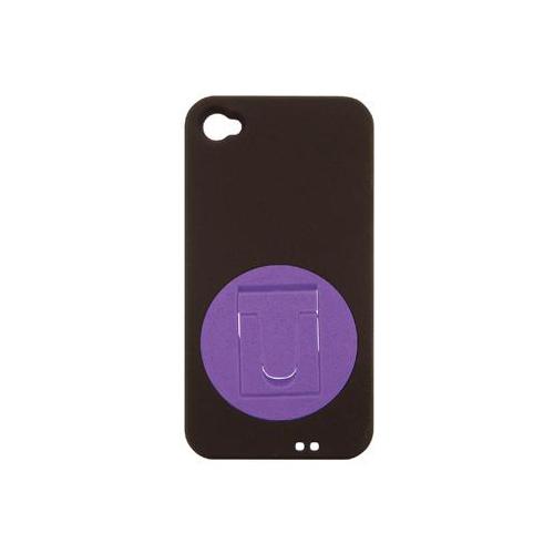 iPhone 4/4S iDress™ SMARTスタンドカバー iPhone4S/4対応 パープル