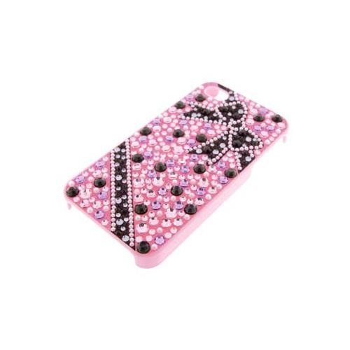 iPhone 4/4S iDress™  ジュエリーケース iPhone4S/4対応 ピンクリボン