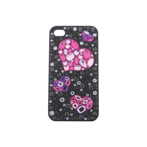 iPhone 4/4S iDress™  ジュエリーケース iPhone4S/4対応 ブラックハート