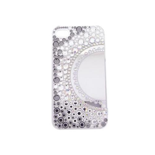 iPhone 4/4S iDress™ ミラージュエリーカバー iPhone4S/4対応 ホワイト