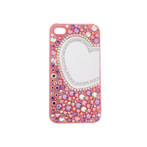 iPhone 4/4S iDress™ ミラージュエリーカバー iPhone4S/4対応 ピンク