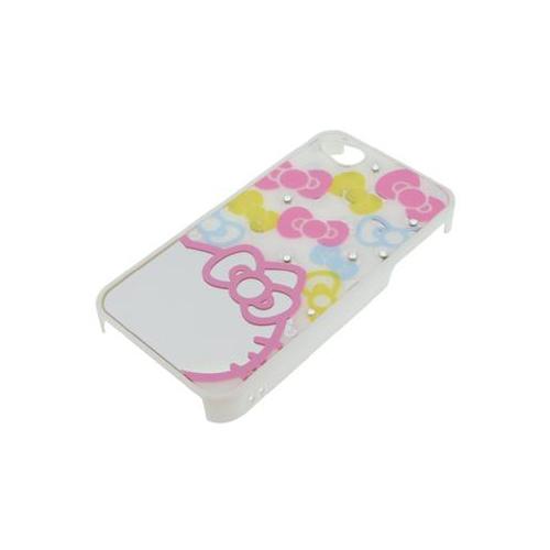 iPhone 4/4S iDress™ ハローキティ ミラージュエリーカバー iPhone4S/4対応 リボン