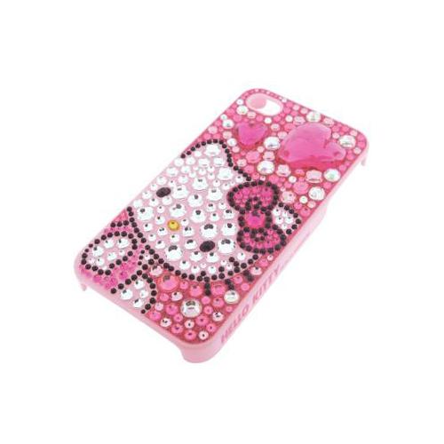 iPhone 4/4S iDress™ ハローキティ ジュエリーカバー iPhone4S/4対応 ピンク
