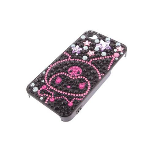 iPhone 4/4S iDress™ クロミ ジュエリーカバー iPhone4S/4対応 ブラック