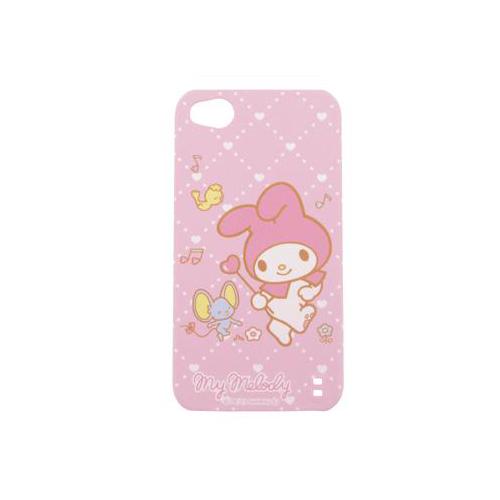 iPhone 4/4S iDress™ マイメロディ バックカバー iPhone4S/4対応 ピンクミュージック