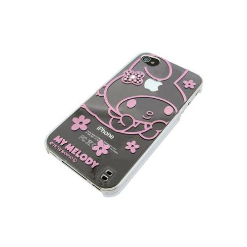 iPhone 4/4S iDress™ マイメロディ メタリックジュエリーカバー iPhone4S/4対応 ピンク