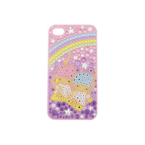 iPhone 4/4S iDress™ リトルツインスターズ ジュエリーカバー iPhone4S/4対応 ピンク